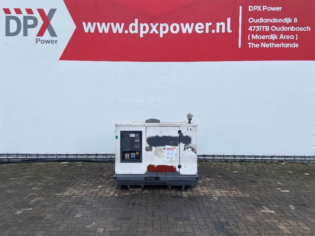 Lombardini LDW2204GSE15 - 22 kVA Generator - DPX-11960, Diesel generatoren, Bouw
