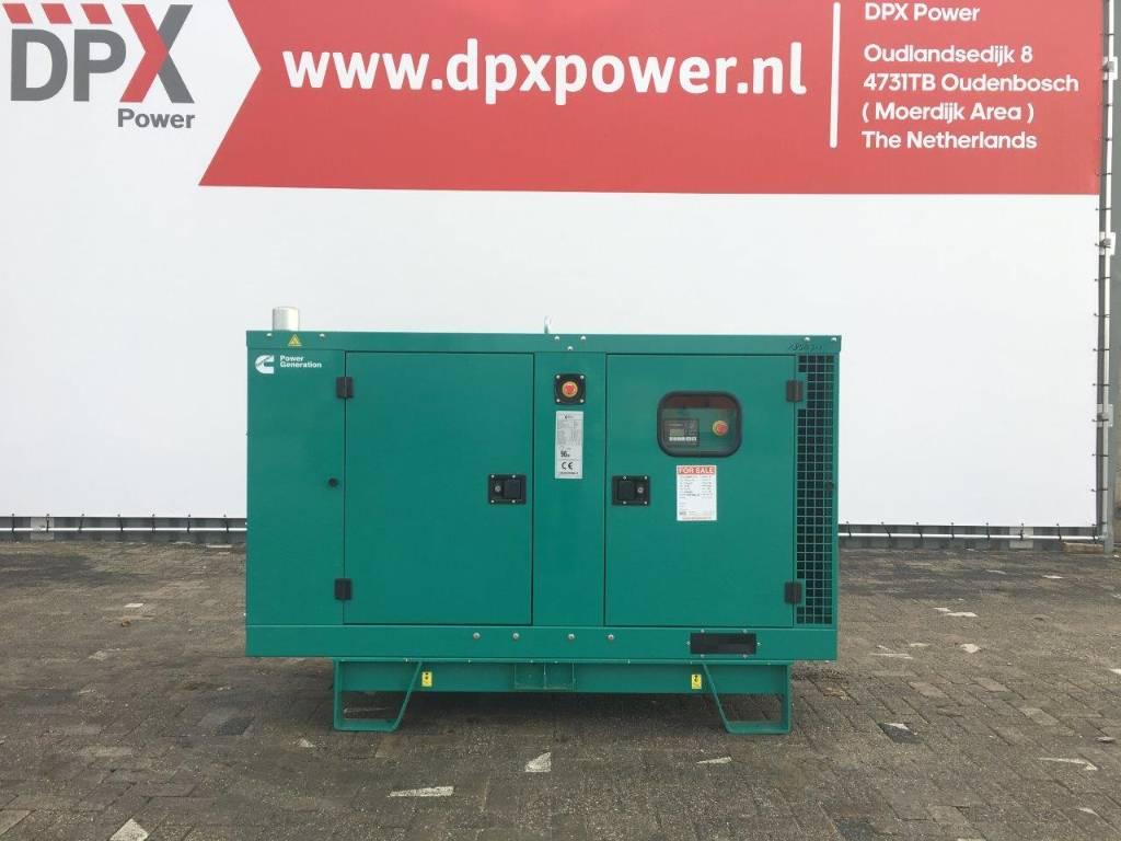 Cummins C33 D5 - 33 kVA Generator - DPX-18503, Diesel generatoren, Bouw