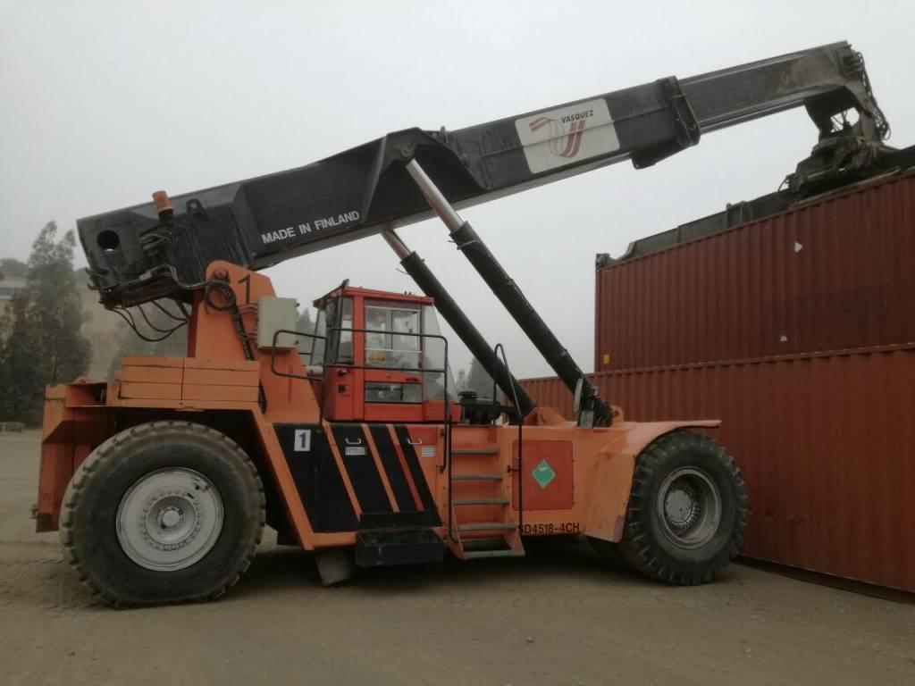 SISU RSD4518-4CH, Loader cranes, Transportation