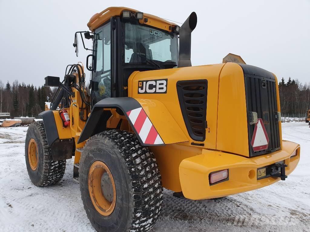 JCB 436 E HT, Hjullastare, Entreprenad