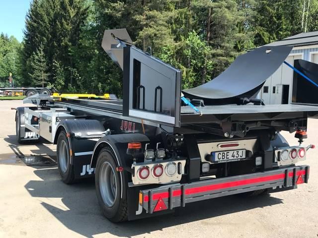 Jyki 3 axl lastväxlarvagn med tipp, Lastväxlarsläp, Transportfordon