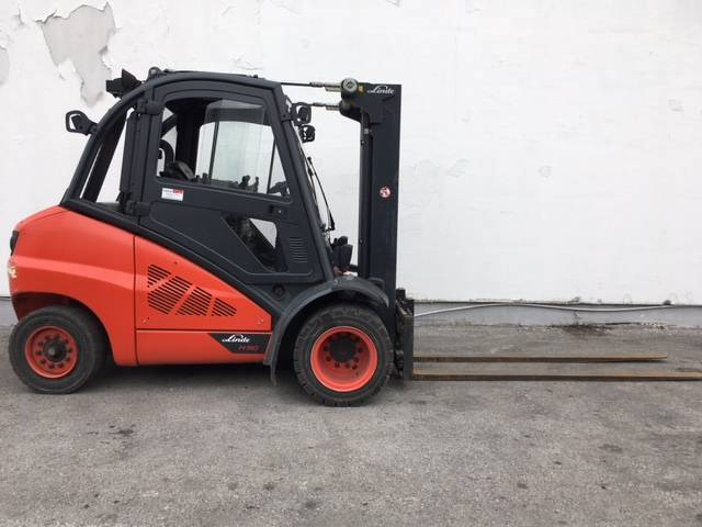 Linde H50D/394, Diesel trucks, Material Handling
