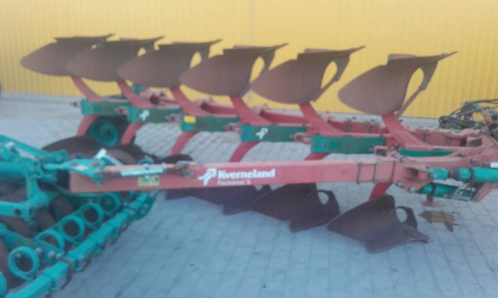 Kverneland Ecomat, Reversible ploughs, Agriculture