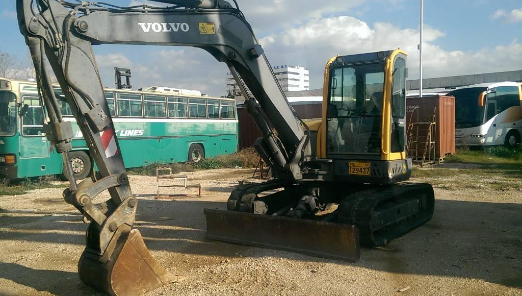 Volvo ECR88, Mini excavators  7t - 12t, Construction Equipment