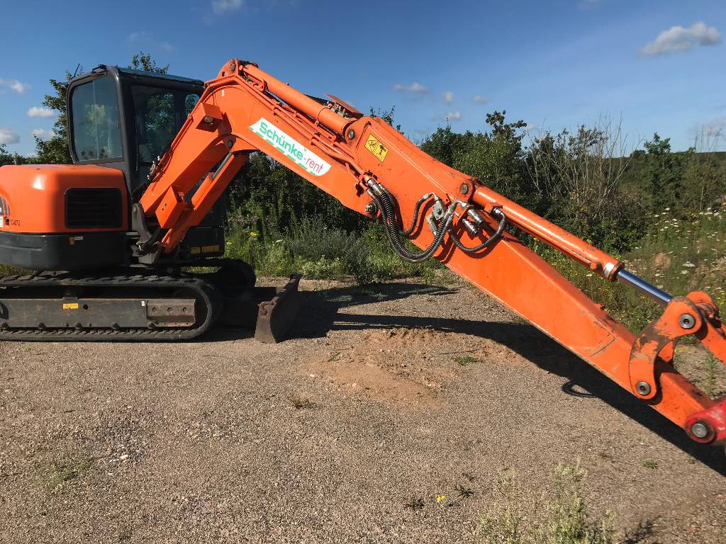 Doosan DX 62 R-3, Mini digger, Construction Equipment