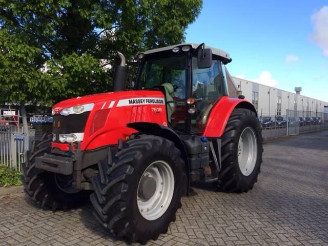 Massey Ferguson 7616 Dyna-6 Efficient, Tractoren, Landbouw