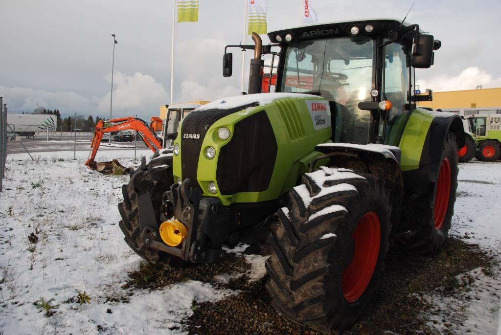 CLAAS Arion 650 Cebis, Traktorit, Maatalouskoneet