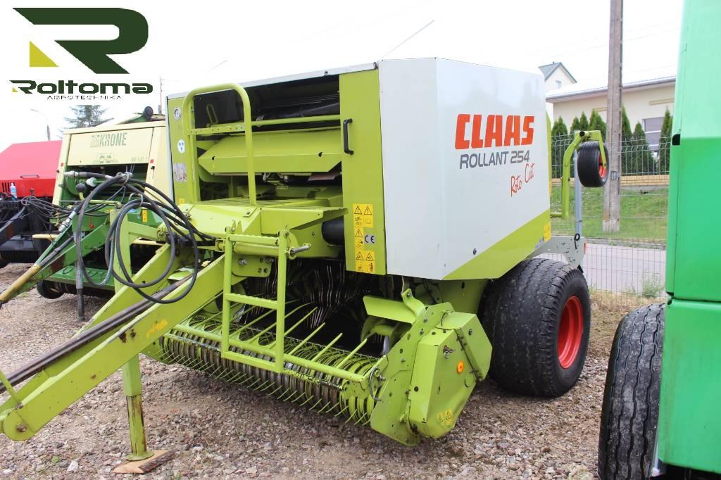 CLAAS Rollant 254 RC, Prasy zwijające, Maszyny rolnicze