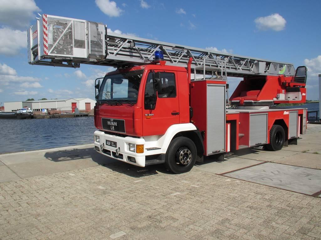 MAN 15-264 Ladderwagen, Fire trucks, Transportation