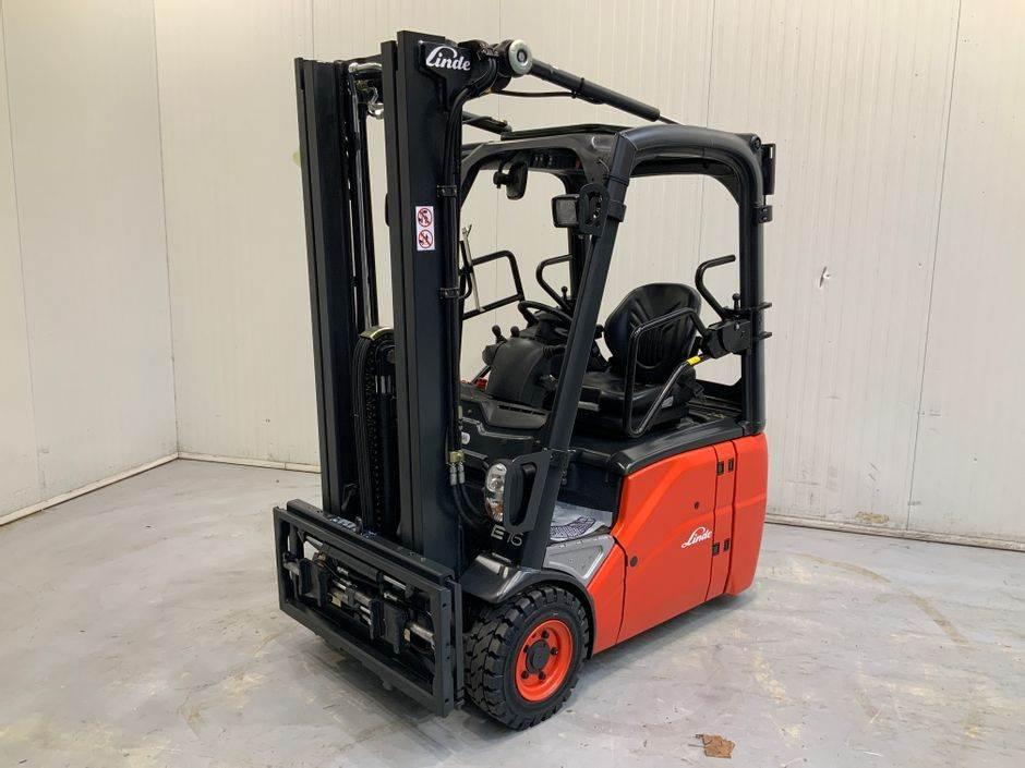 Linde E16 C 386 Serie, Electric Forklifts, Material Handling