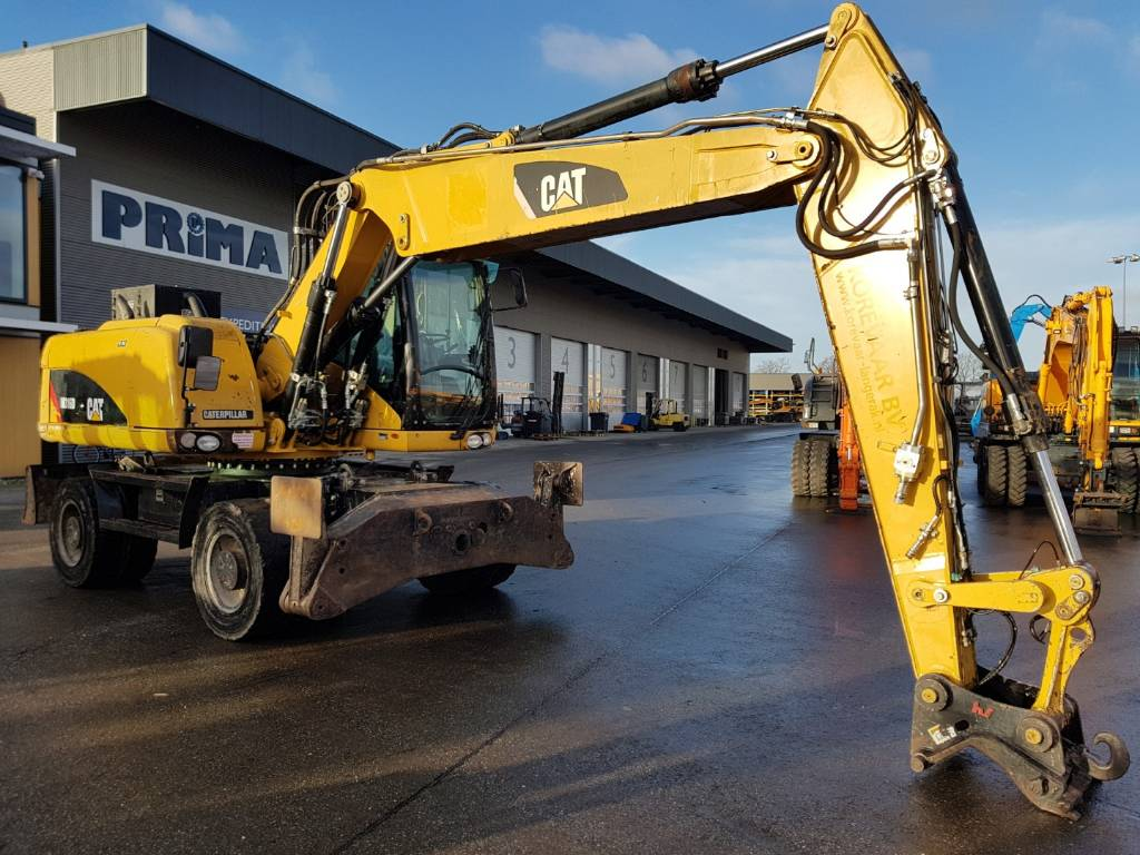 Caterpillar M 316 D VAH, Wheeled Excavators, Construction Equipment