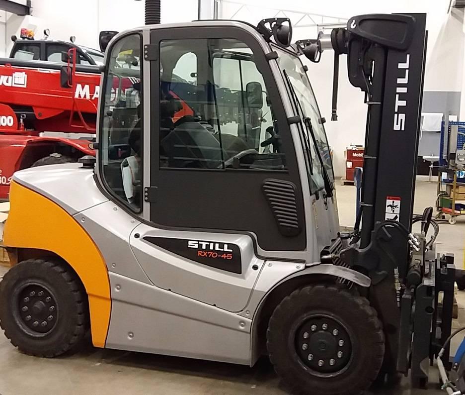 Still ICB RX70-45, Dieseltrukit, Materiaalinkäsittelykoneet