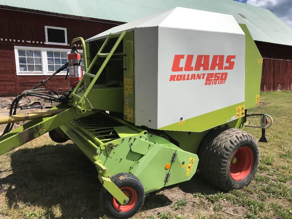 CLAAS Rollant 250 RC, Rundbalspressar, Lantbruk