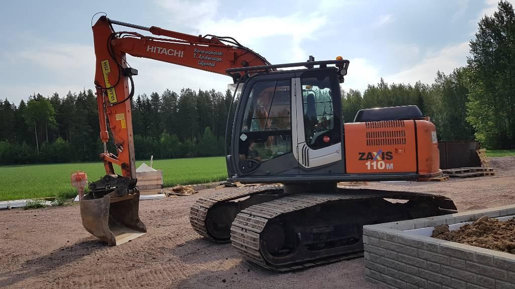 Hitachi ZX110M-3 Tulossa, Crawler excavators, Construction