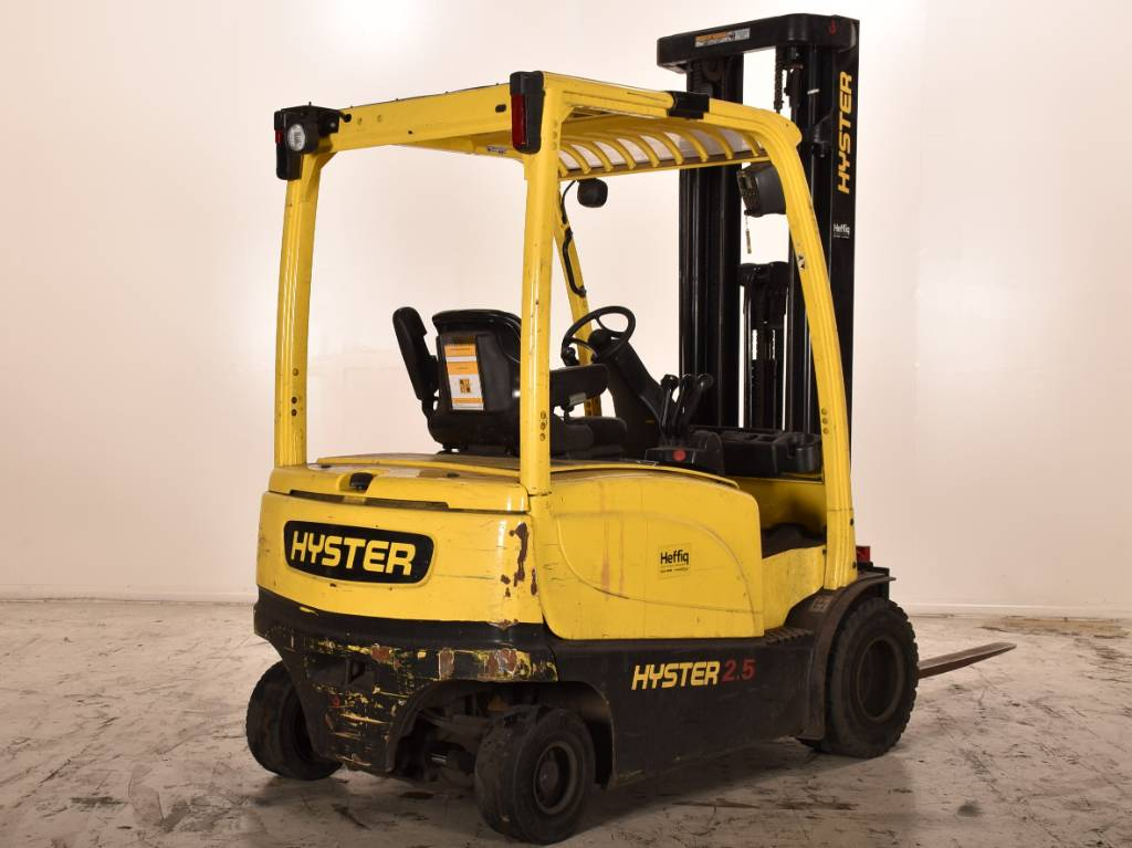 Hyster J2.5XN, Elektrische heftrucks, Laden en lossen