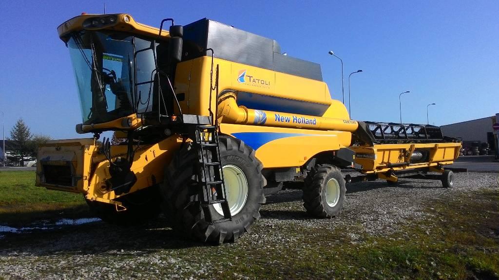 New Holland CSX 7040, Kombainid, Põllumajandus