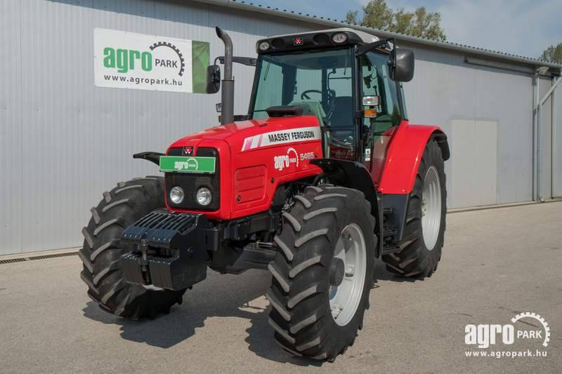 Massey Ferguson 5465 (5858 hours), Dynashift 16 16, air brakes
