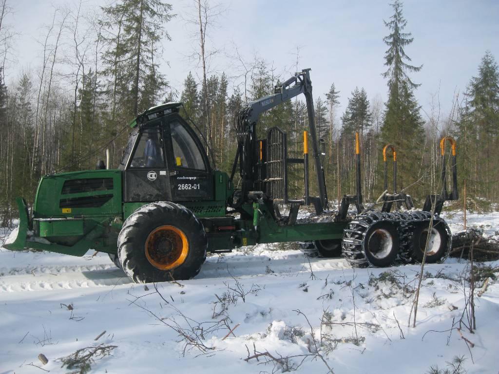 Amkodor 2662-01, Forwardery, Maszyny leśne