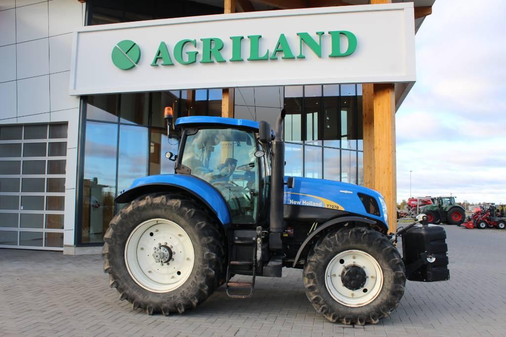 New Holland T 7070, Traktorid, Põllumajandus
