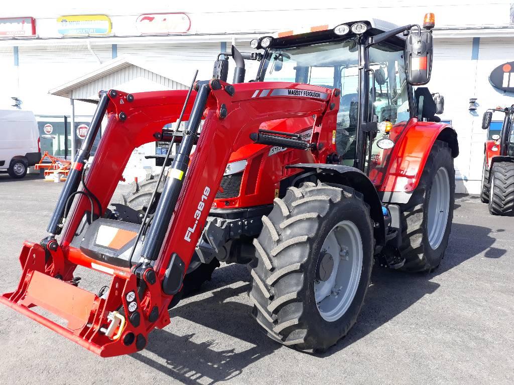 """Massey Ferguson 5713S Dyna-6 Essential """"HETI VAPAA"""", Traktorit, Maatalous"""
