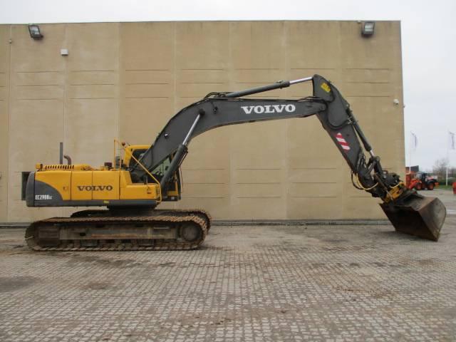 Volvo EC 290 B LC, Gravemaskiner, Entreprenør