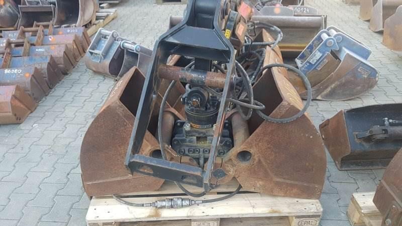 Kinshofer Schalengreifer C08 HPX Drive, Greifer, Baumaschinen
