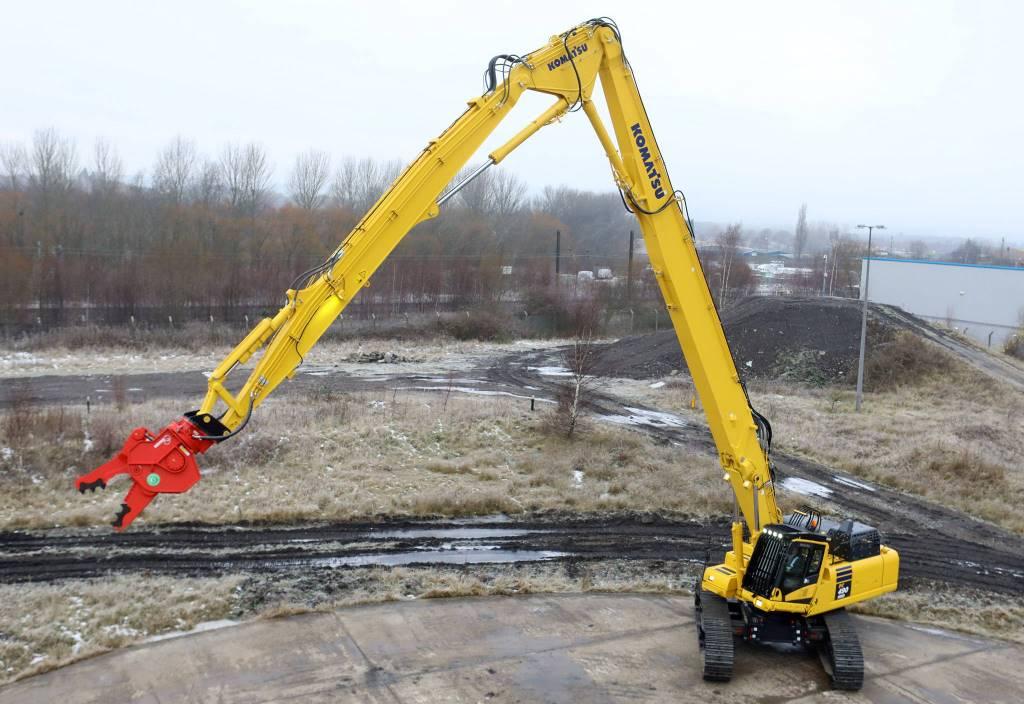 Komatsu PC490LC-11 High Reach Demolition, Rivningsgrävare, Entreprenad