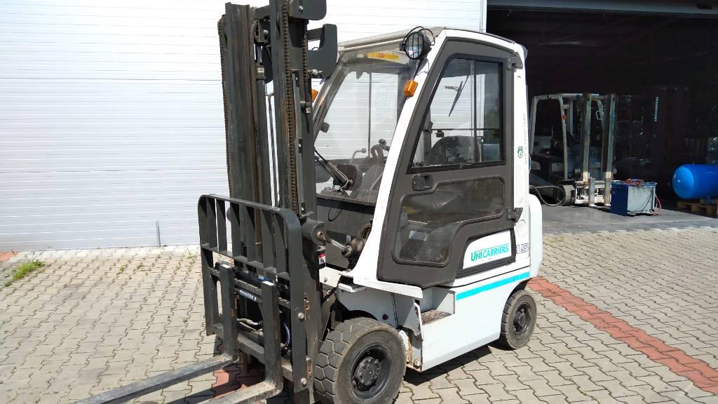 UniCarriers / NISSAN P1D1A15LQ, LPG trucks, Material Handling