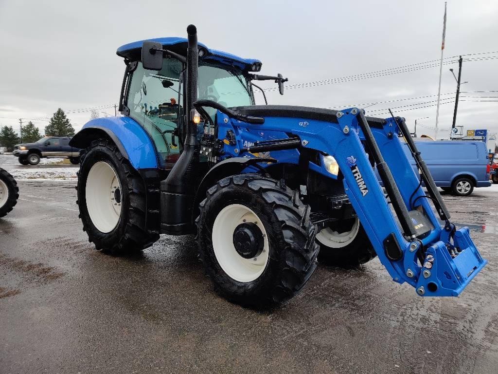 New Holland T6.165 EC50 -POISTOMYYNTI!, Traktorit, Maatalous