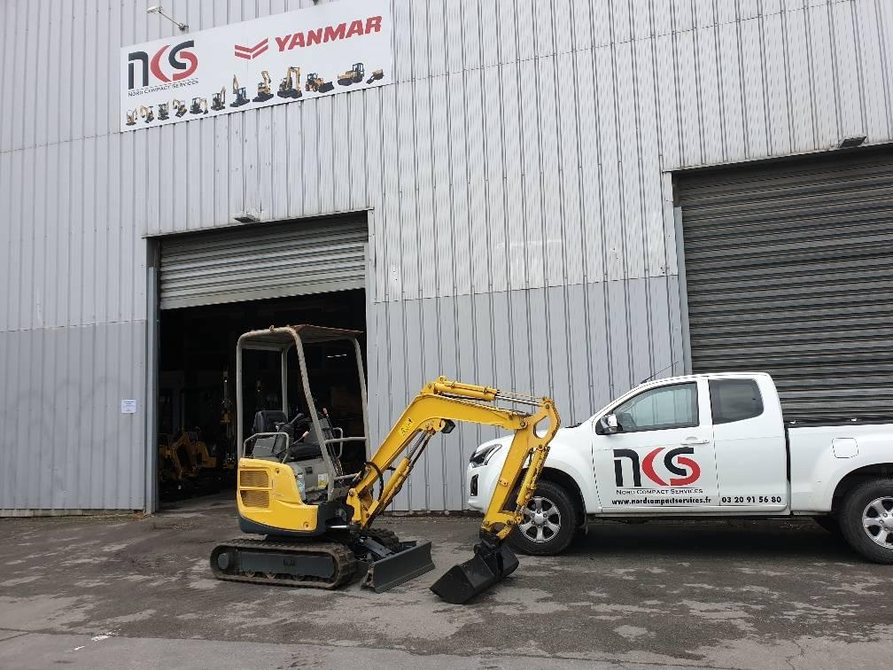 Yanmar VIO17, Mini excavators < 7t (Mini diggers), Construction