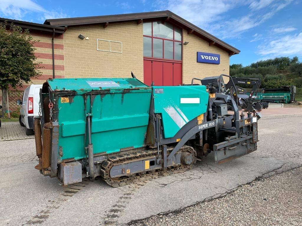 Vögele SUPER 800, Asphalt pavers, Construction Equipment