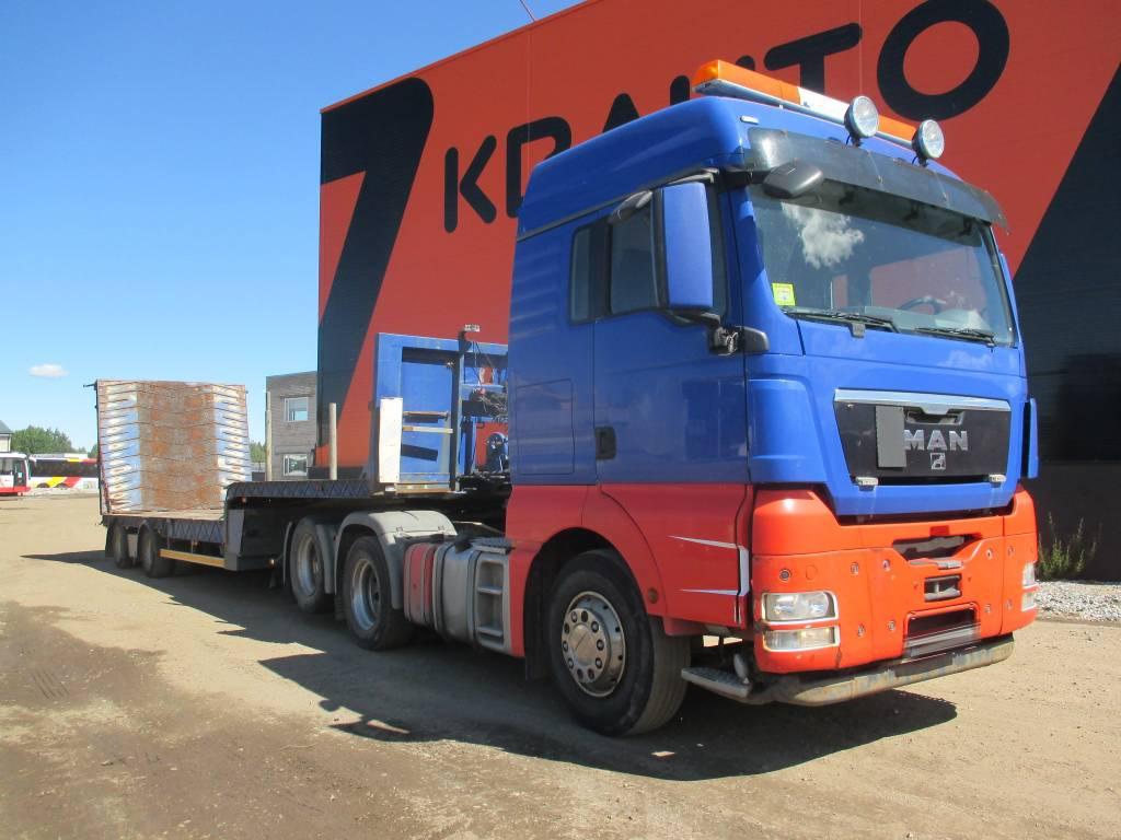 MAN TGX 28.440 + RENDERS RZOC 16.20, Conventional Trucks / Tractor Trucks, Trucks and Trailers