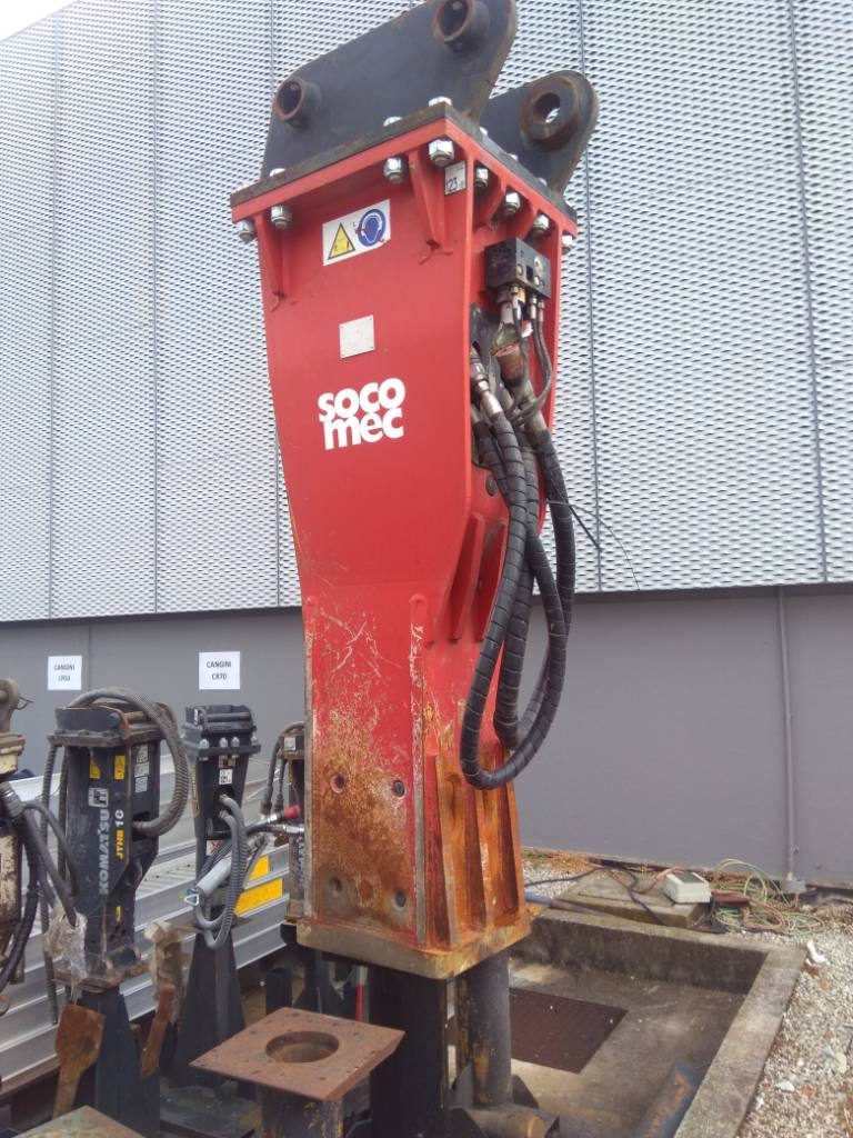 Socomec MDO 2600 TS, Hammers / Breakers, Construction Equipment