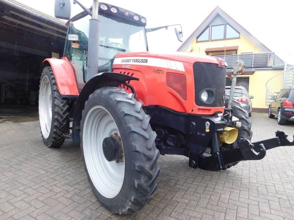 Massey Ferguson 6480 Allrad DYNA 6 Traktor