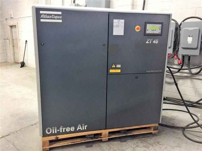 Atlas Copco ZT 45, Compressors, Industrial