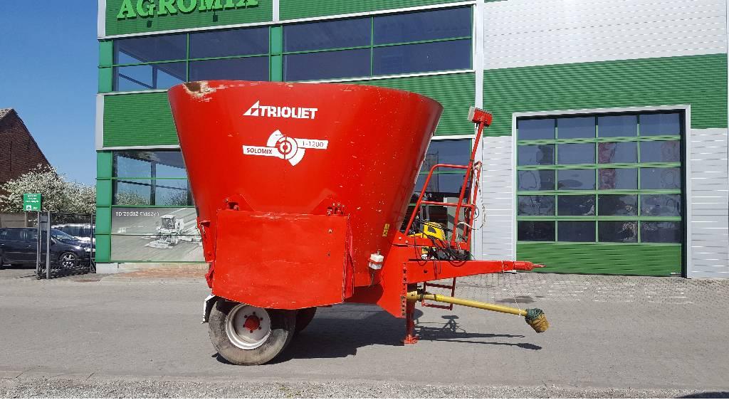 Trioliet SOLOMIX 1-1200ZK, Mieszalniki, Maszyny rolnicze