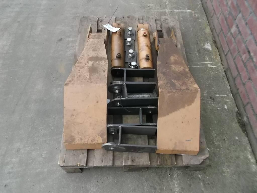 Grimme RH stortbak, hydraulische steunpoten, Stortbunkers, Landbouw