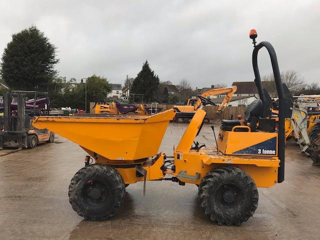 Thwaites 3000 Swivel Mach573, Site dumpers, Construction