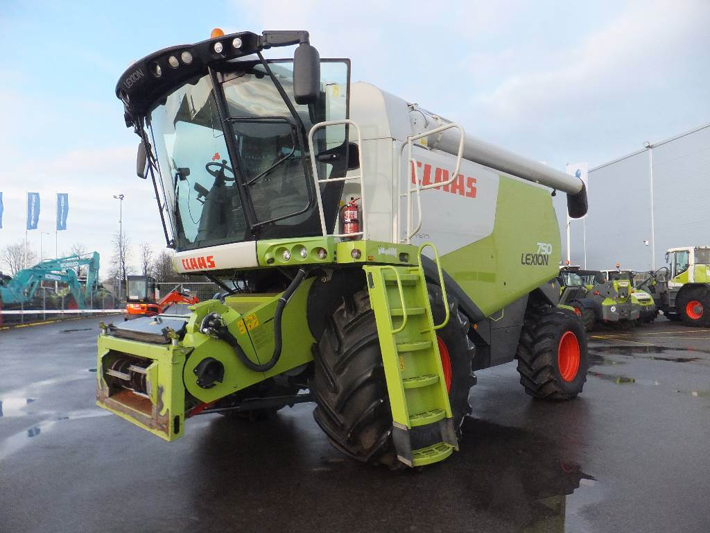 CLAAS Lexion 750, Combine harvesters, Agriculture