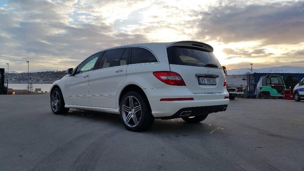 Mercedes-Benz R350 CDI Lang 4-matic 5-seter, Personbiler, Transport