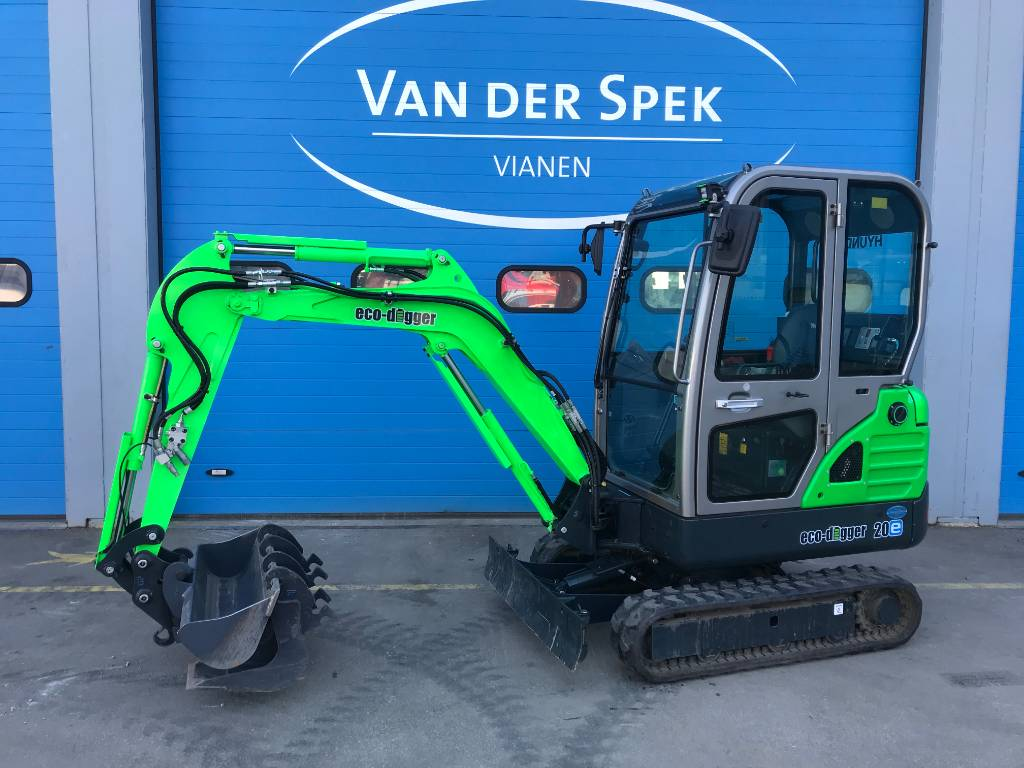 Hyundai Eco-Digger R20E Full Electric, Minigraafmachines < 7t, Bouw