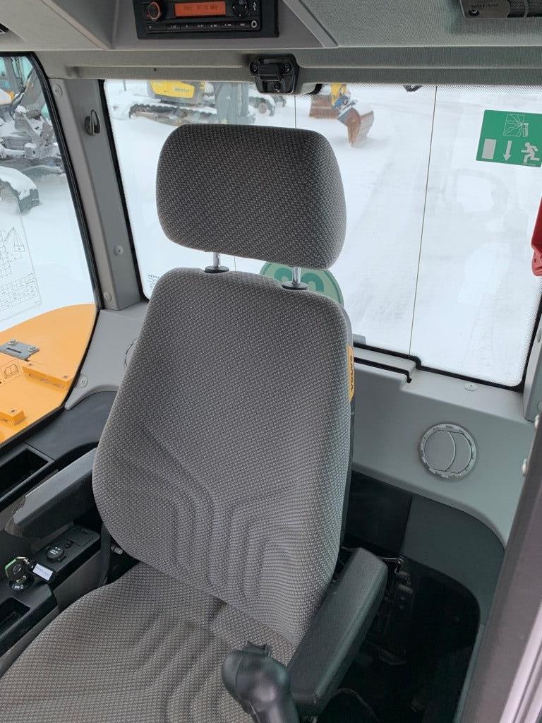 Volvo EW 60 E, Pyöräkaivukoneet, Maarakennus
