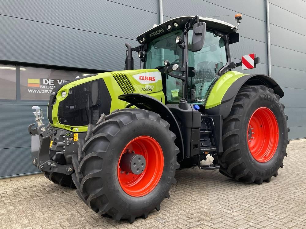 CLAAS Axion 830 Cmatic, Tractoren, Landbouw