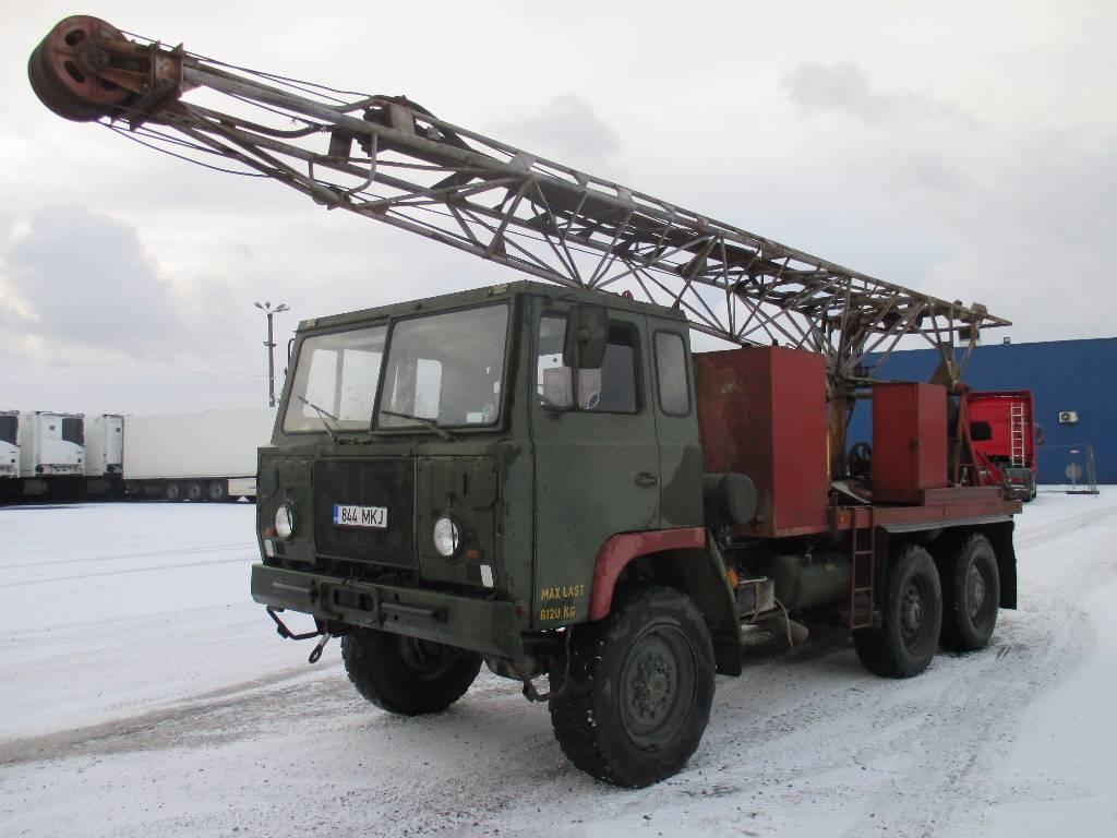 Scania SBAT 111SA 166, Kaevupuurimisseadmed, Ehitus