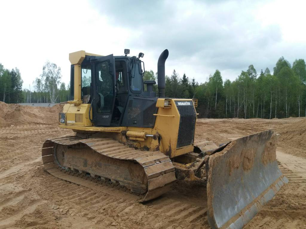 Komatsu D41P-6, Dozers, Construction Equipment