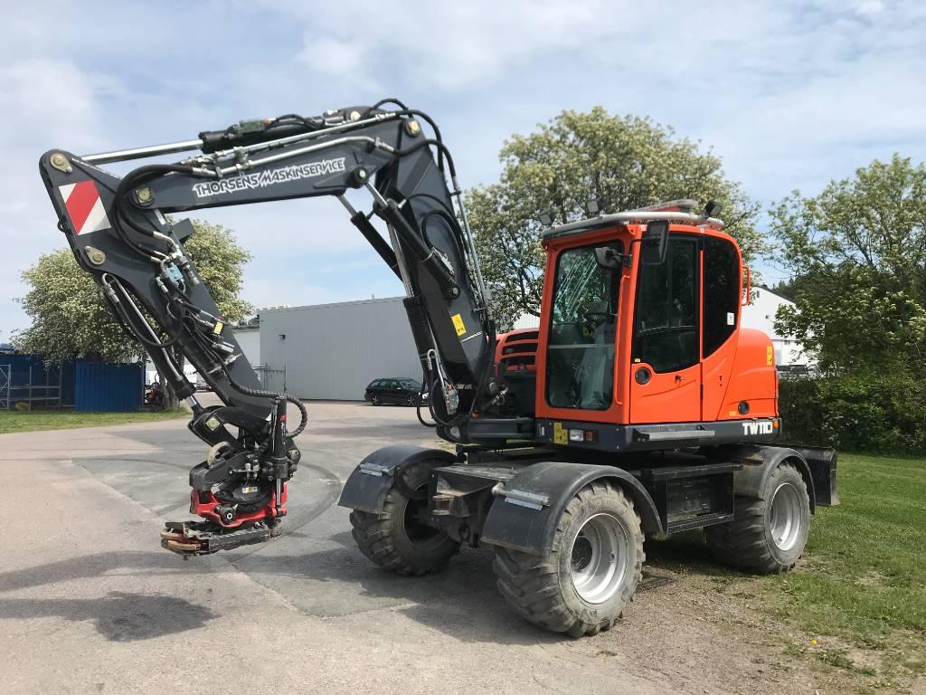 Terex TW 110 med vagn och skopor!, Hjulgrävare, Entreprenad
