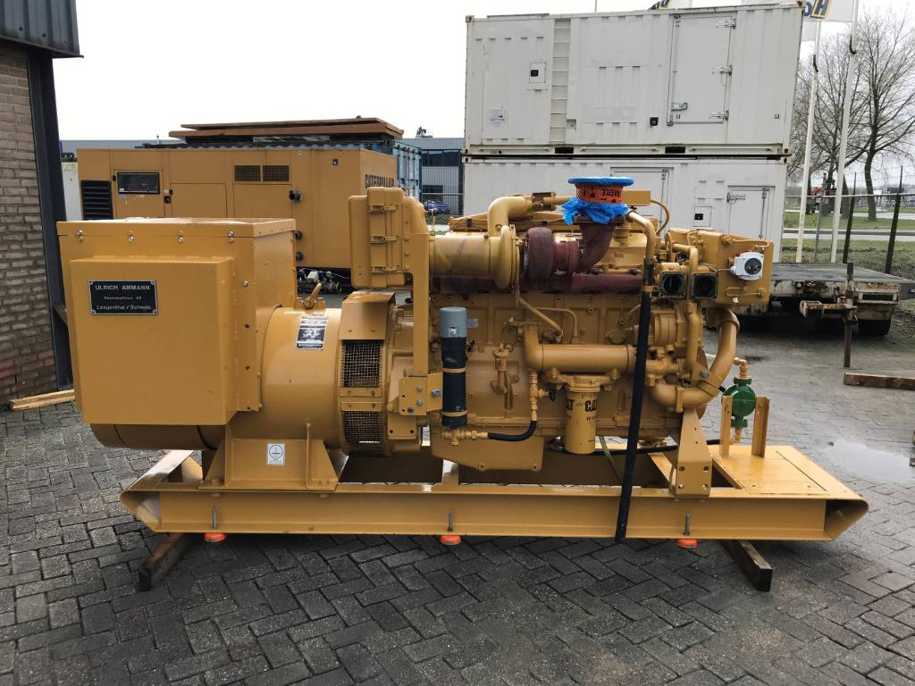 Caterpillar 3406 Generator Set - 320 kVa - DPH 105942, Diesel Generators, Construction