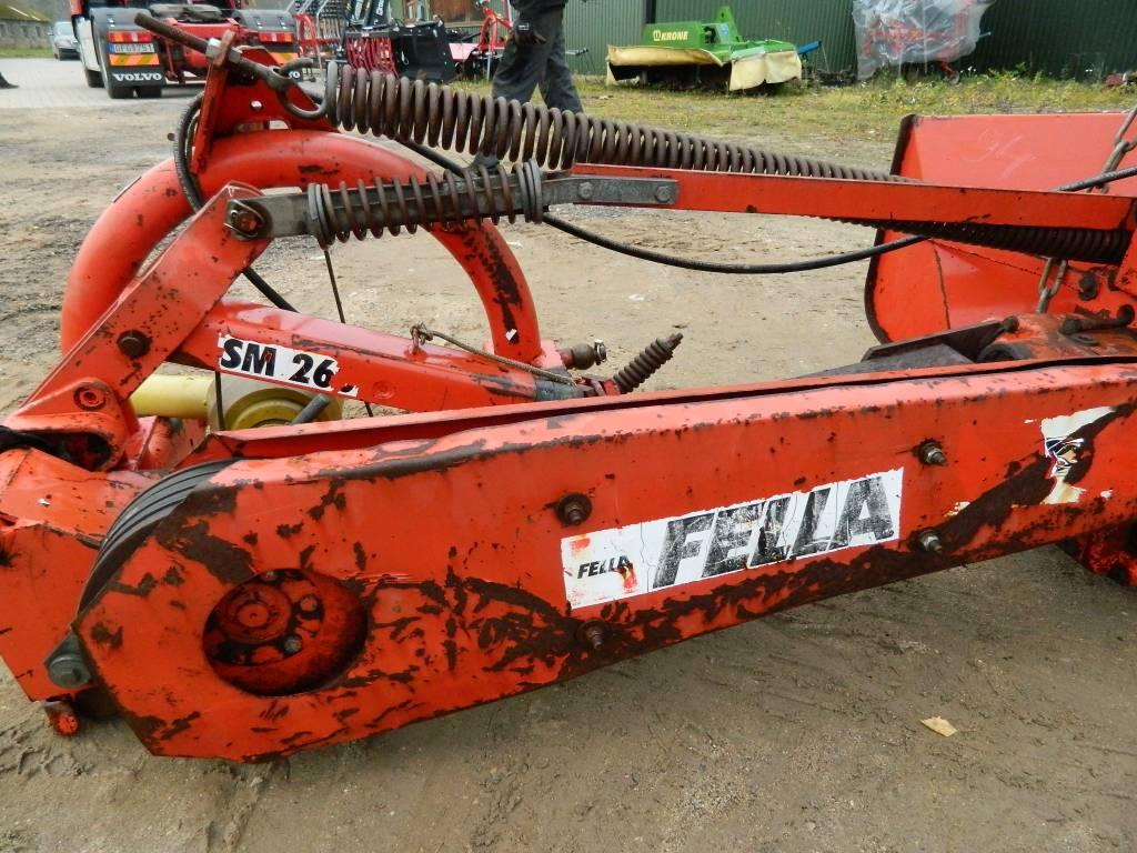 Fella SM 260, Pļaujmašīnas, Lauksaimniecība