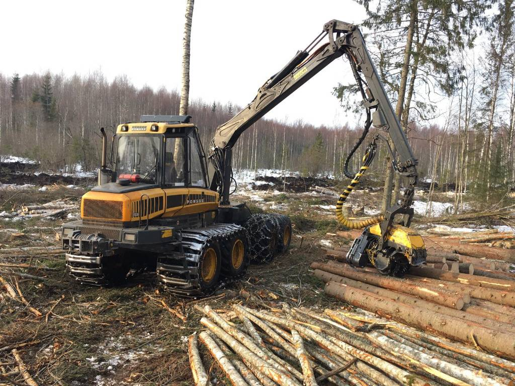 Ponsse Fox, Harvesters, Forestry