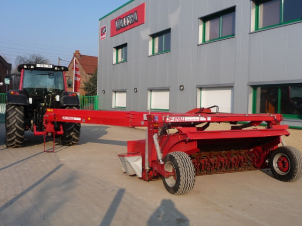 Used JF STOLL GFS 3205 Flex mower conditioners Year 2010